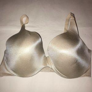 Victoria's Secret lined perfect coverage bra 38DD